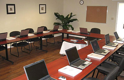 CRMS Software training room